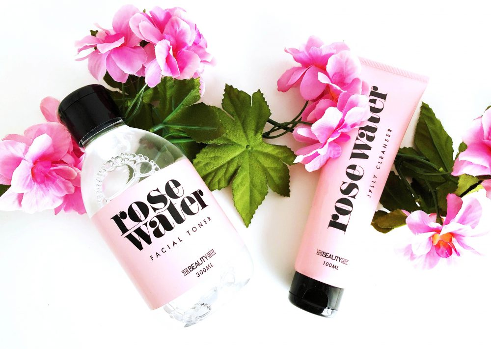 Rose Water Jelly Cleanser Facial Toner Action