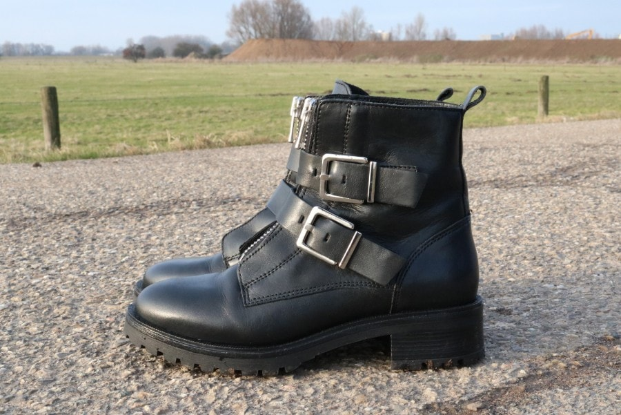 lage prijs hier online beste kwaliteit biker boots zwart boots met gespen 16b29600cff - 4kleeblatt.com